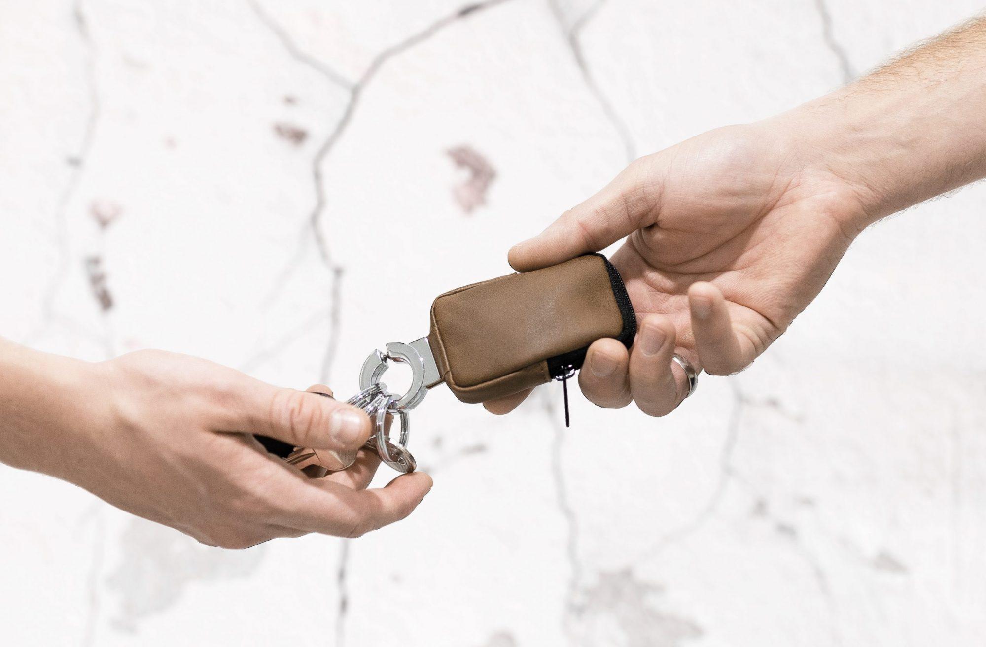 Clean Click Troika antibakterielle Schlüsselanhänger Tasche