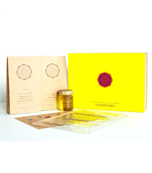 4Qtrade GmbH Schokolade zum Selbermachen Lemon Yellow